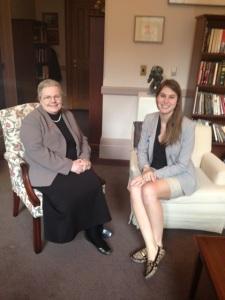 Nicole Leonard + Sen Joan Fraser